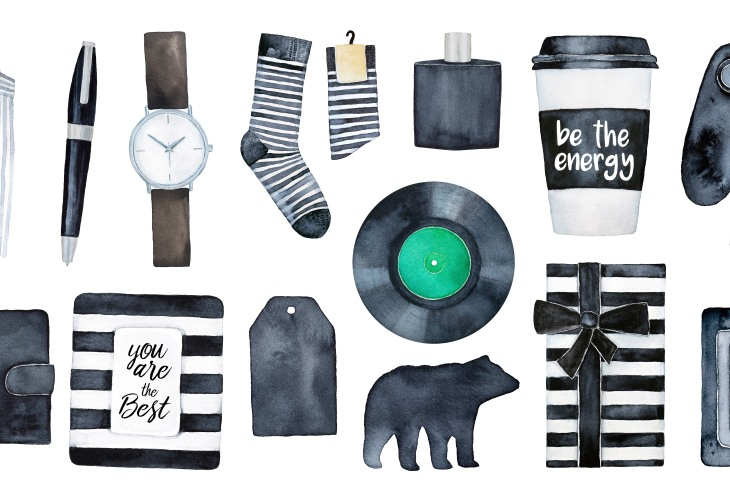 A collection of products curated for urbane males.
